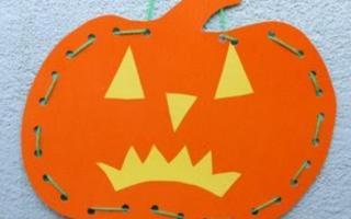 Поделки на Хэллоуин с детьми