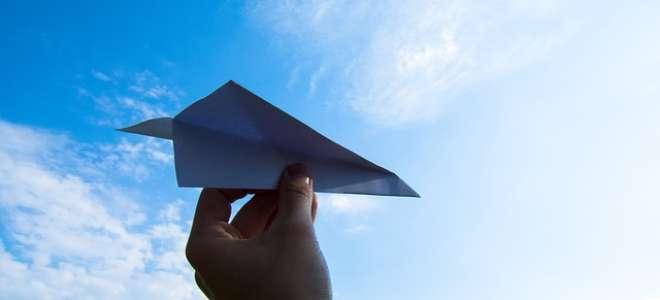 Проекты с бумажными самолетиками. История воздухоплавания. Почему летает самолет?